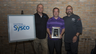 Sysco Postsecondary Educator of the Year Runner Up: Patrick Hayes, CHE