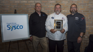 Sysco Post Secondary Educator of the Year Winner: Dr. Michael Riggs