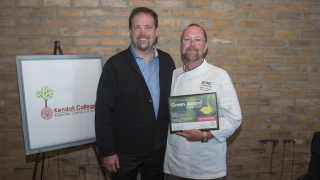 Kendall College/CAFÉ Green Award: James Cason