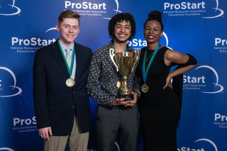 ProStart Management Competition Winners Mesh Italian and Latin Cuisine in Restaurant Concept