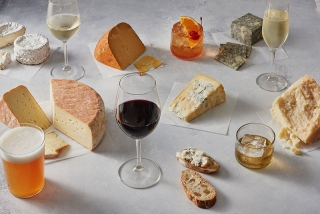 Hook Up Your Cheese Wheel with the Perfect Beverage Pairing