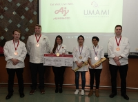 Six Aspiring Chefs Competed at the 2019 United States of Umami Culinary Competition